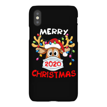 Reindeer In Mask Shirt Funny Merry Christmas 2020 Iphonex Case Designed By Conco335@gmail.com