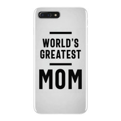 Womens World's Greatest Mom | Mom Grandma Tee Gifts iPhone 7 Plus Case | Artistshot