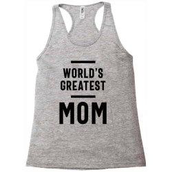 Womens World's Greatest Mom | Mom Grandma Tee Gifts Racerback Tank | Artistshot