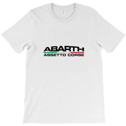 Abarth 500 Car T-shirt Designed By Tasha
