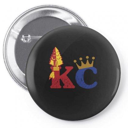 Kansas City Sports Hybrid Pin-back Button Designed By Nurmasit1