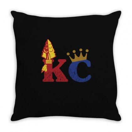 Kansas City Sports Hybrid Throw Pillow Designed By Nurmasit1