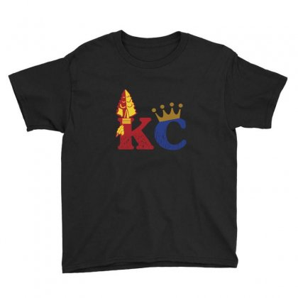 Kansas City Sports Hybrid Youth Tee Designed By Nurmasit1