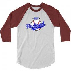 best husband since 1958 baseball 3/4 Sleeve Shirt | Artistshot