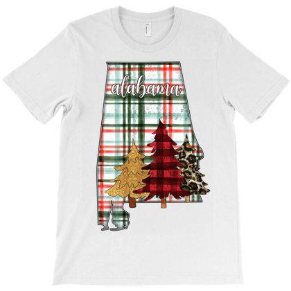 Alabama Christmas T-shirt Designed By Badaudesign