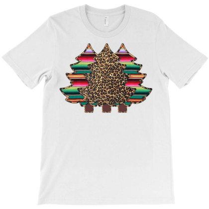 Leopard And Serape Trees T-shirt Designed By Badaudesign