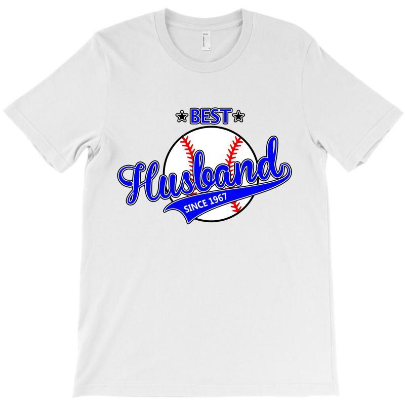 Best Husband Since 1967 Baseball T-shirt | Artistshot