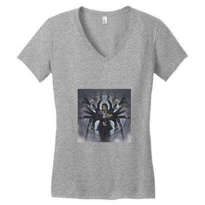 John Wick Women's V-neck T-shirt Designed By Uttam