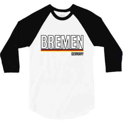 Bremen In Germany 3/4 Sleeve Shirt Designed By Chris Ceconello