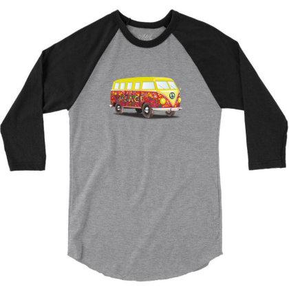 Yellow Van 3/4 Sleeve Shirt Designed By Coşkun