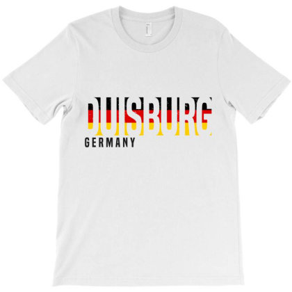Duisburg In Germany T-shirt Designed By Chris Ceconello