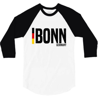 Bonn  In Germany 3/4 Sleeve Shirt Designed By Chris Ceconello