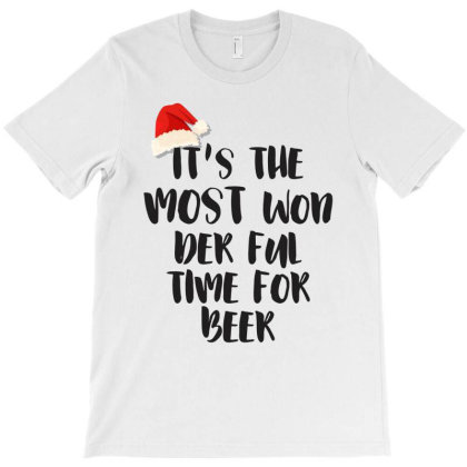 It's The Most Won Der Ful Time For Beer T-shirt Designed By Chris Ceconello