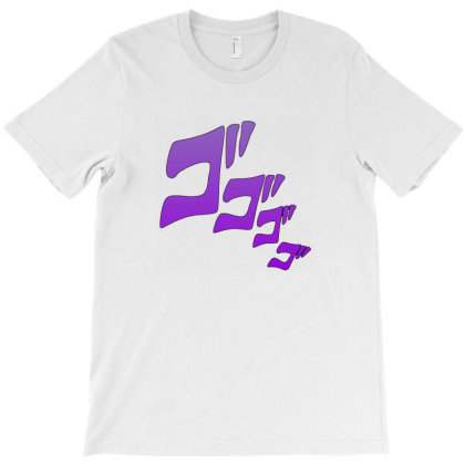 Jojos Manga T-shirt Designed By Arum