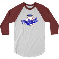 best husbond since 1975 baseball 3/4 Sleeve Shirt   Artistshot