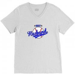 best husbond since 1976 baseball V-Neck Tee | Artistshot