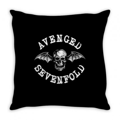 Avenged Sevenfold Throw Pillow Designed By Defit45