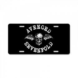 AVENGED SEVENFOLD License Plate | Artistshot