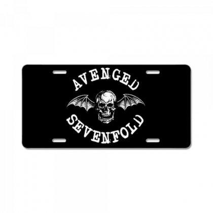 Avenged Sevenfold License Plate Designed By Defit45
