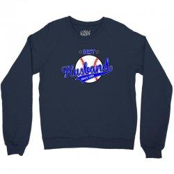 best husbond since 1984 baseball Crewneck Sweatshirt   Artistshot