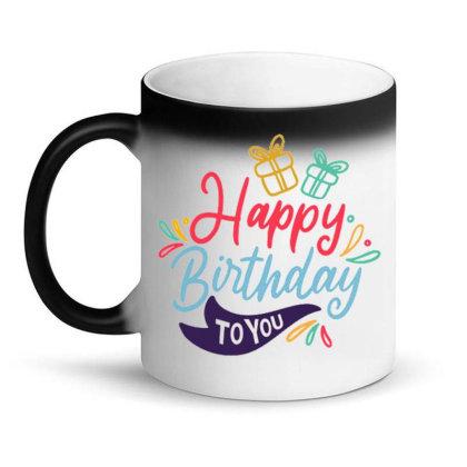 Happy Birthday 4 Magic Mug Designed By Ndaart