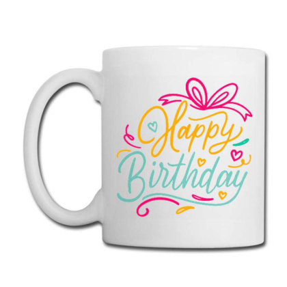 Happy Birthday 3 Coffee Mug Designed By Ndaart