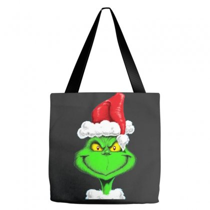 Grinch The Santa Tote Bags Designed By Mdk Art