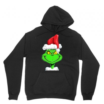 Grinch The Santa Unisex Hoodie Designed By Mdk Art