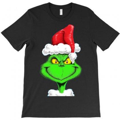 Grinch The Santa T-shirt Designed By Mdk Art