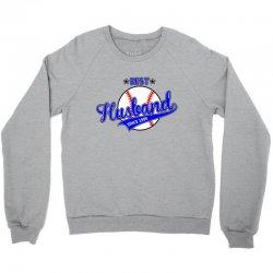 best husbond since 1999 baseball Crewneck Sweatshirt | Artistshot