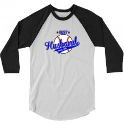best husbond since 2008 baseball 3/4 Sleeve Shirt   Artistshot