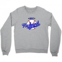 best husbond since 2008 baseball Crewneck Sweatshirt   Artistshot