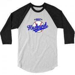 best husbond since 2011 baseball 3/4 Sleeve Shirt | Artistshot
