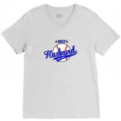 best husbond since 2011 baseball V-Neck Tee | Artistshot