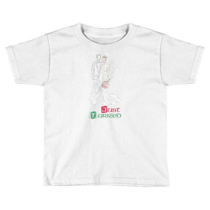 Married Toddler T-shirt Designed By Elhaouass