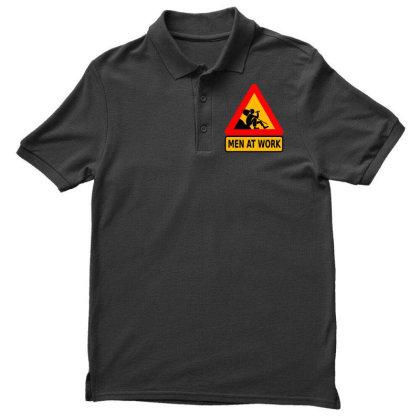 Men At Work Men's Polo Shirt