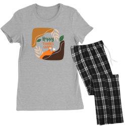 Happy Thanksgiving Women's Pajamas Set | Artistshot