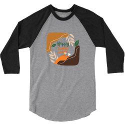 Happy Thanksgiving 3/4 Sleeve Shirt | Artistshot