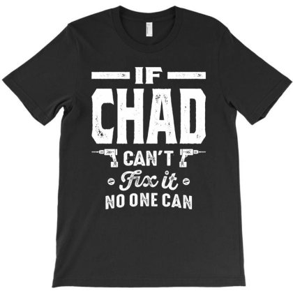 Chad Personalized Name Birthday Gift T-shirt Designed By Cidolopez