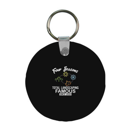 Four Seasons Total Landscaping 2020 Frp Round Keychain Designed By Kakashop