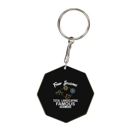 Four Seasons Total Landscaping 2020 Octagon Keychain Designed By Kakashop