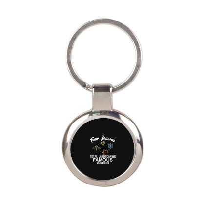 Four Seasons Total Landscaping 2020 Round Keychain Designed By Kakashop