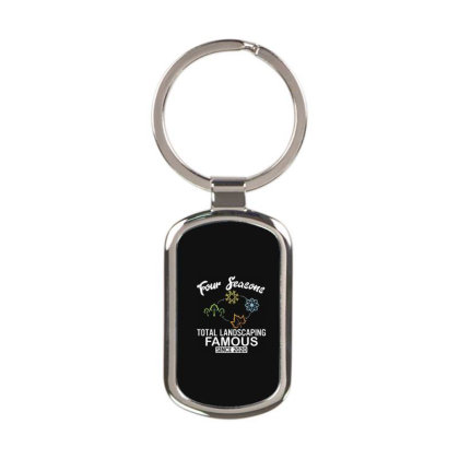 Four Seasons Total Landscaping 2020 Rectangle Keychain Designed By Kakashop