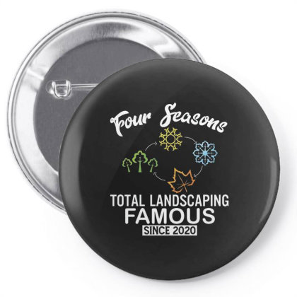 Four Seasons Total Landscaping 2020 Pin-back Button Designed By Kakashop