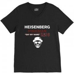 Heisenberg Pinkman 2016 V-Neck Tee | Artistshot