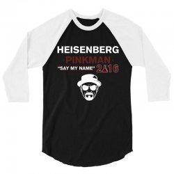 Heisenberg Pinkman 2016 3/4 Sleeve Shirt | Artistshot