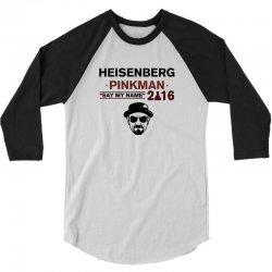 heisenberg pinkman 2016 3/4 Sleeve Shirt   Artistshot