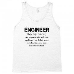 Engineer Definition Funny T-shirt Tank Top   Artistshot