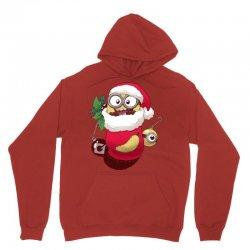 Christmas Santa Minion Stocking Unisex Hoodie | Artistshot