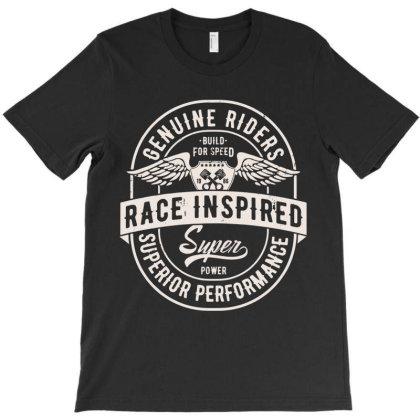 Race Speed Performance Rider T-shirt Designed By Designisfun